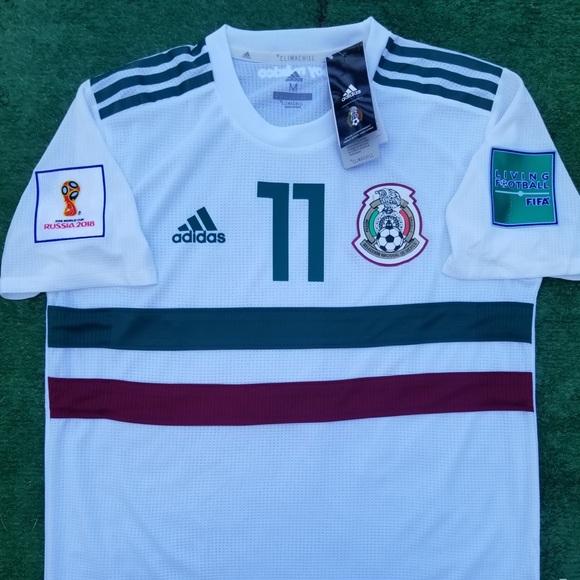244ed0f7213 adidas Shirts | 208 Mexico Away Soccer Jersey Vela | Poshmark